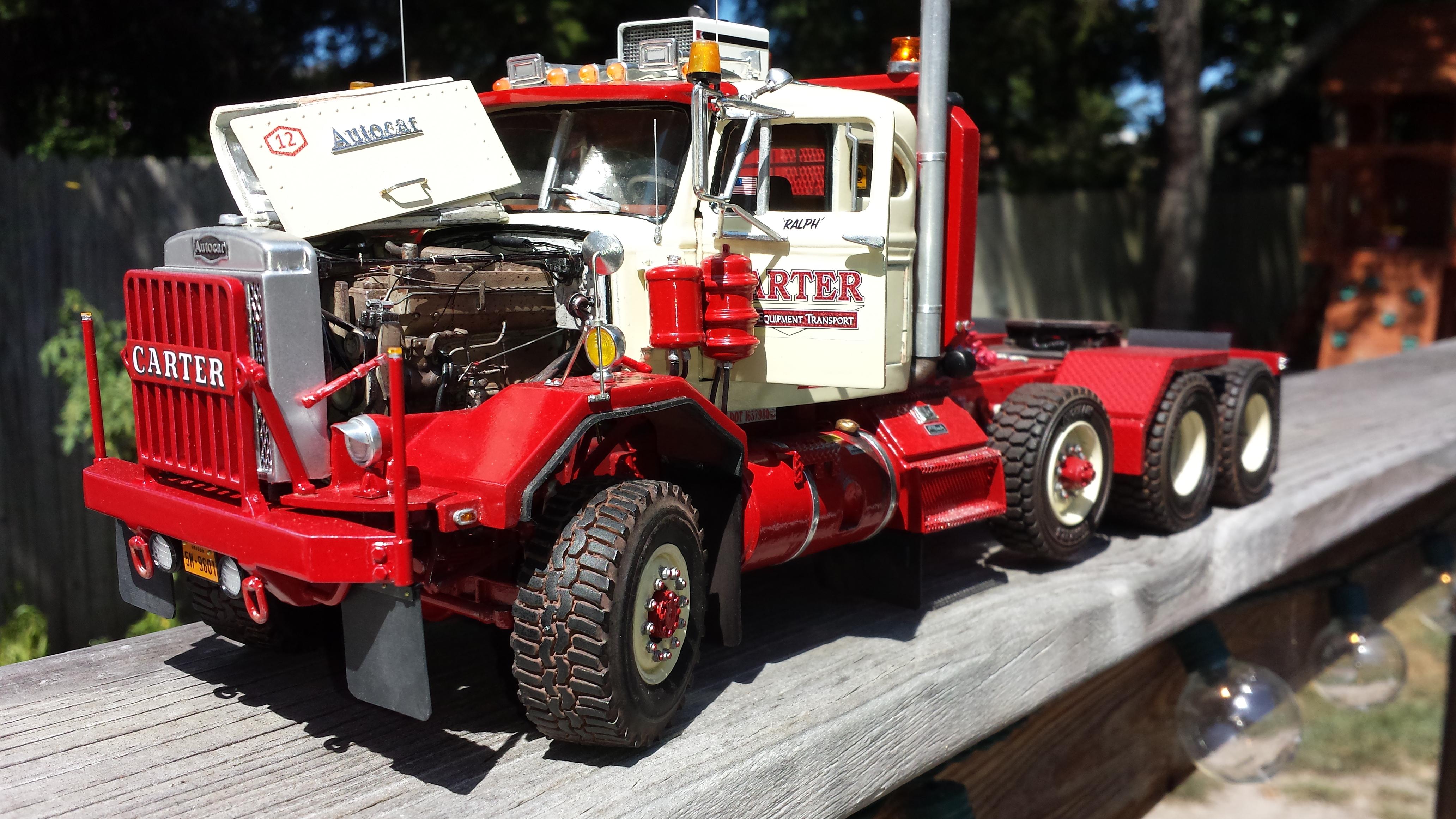 model truck builder