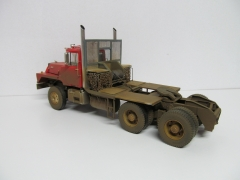 Mack DM800 Winch Truck