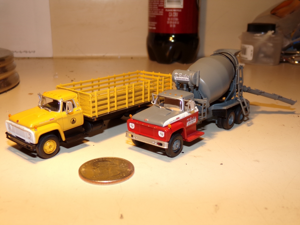 Athearn N Scale 3 Axle Tractor : Model truck builder
