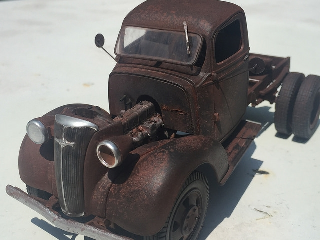 37 Chevrolet Road Tractor
