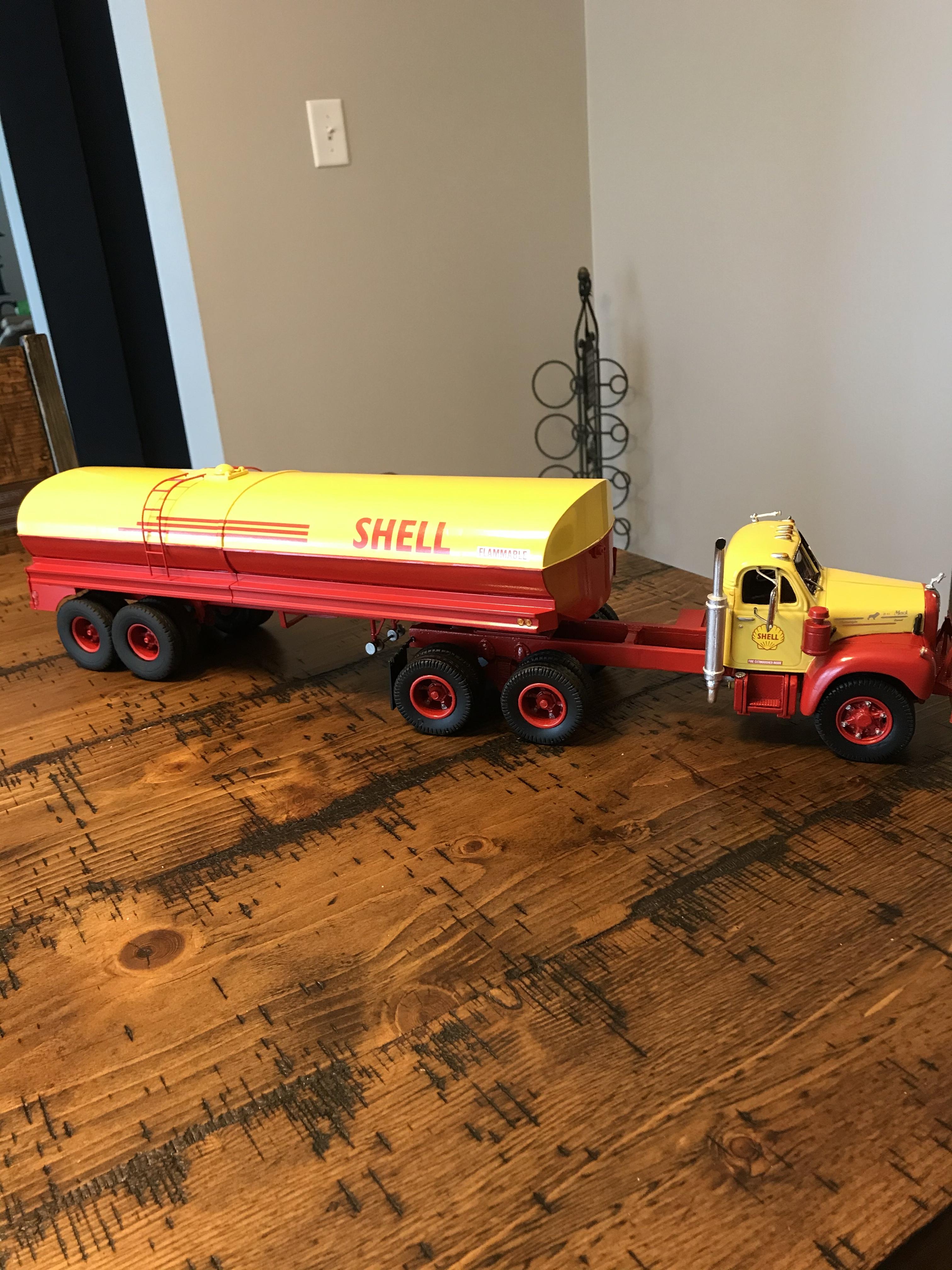 Mack B61 fuel hauler