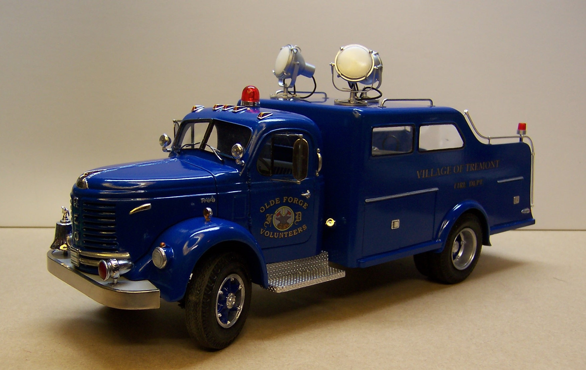 1953 Reo Rescue is done
